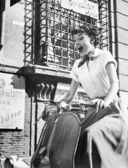 Roman holiday scooter