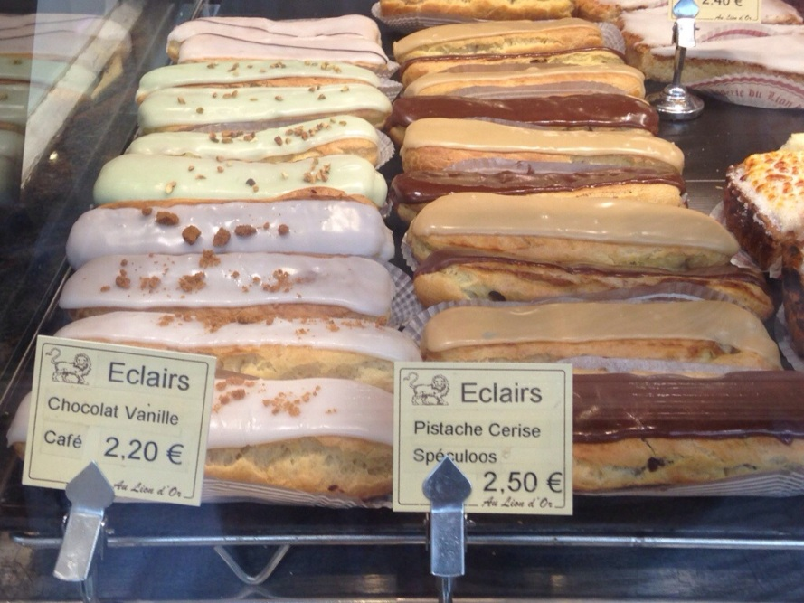 Eclairs in Lille