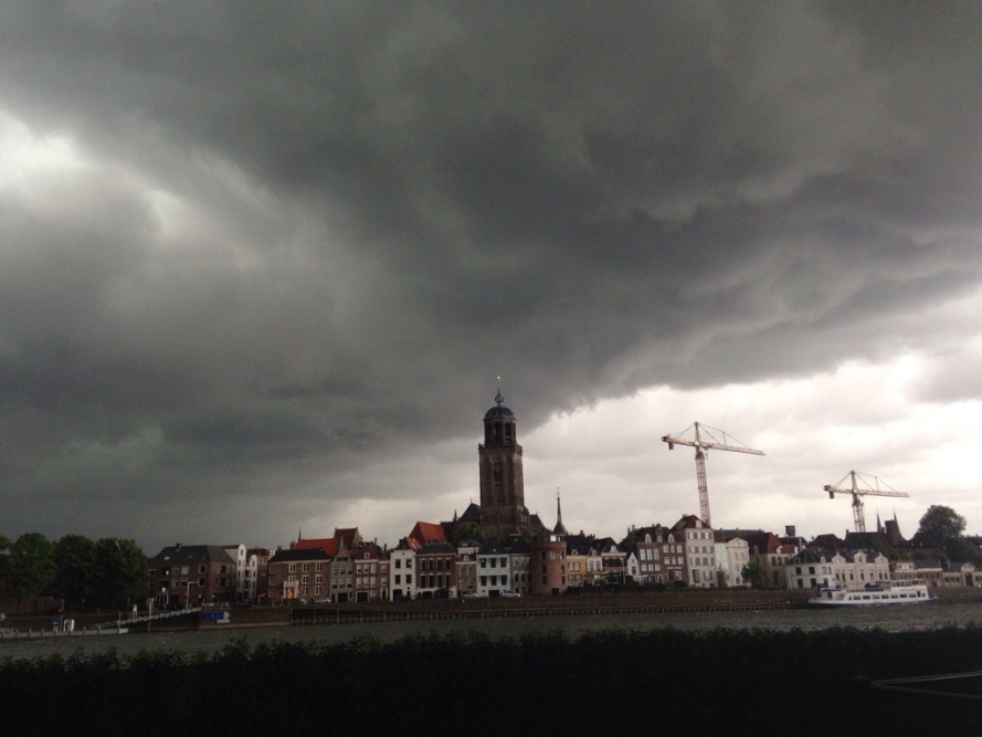 Storm in Deventer