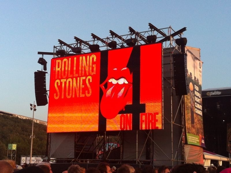 the Rolling Stones Pinkpop 2014