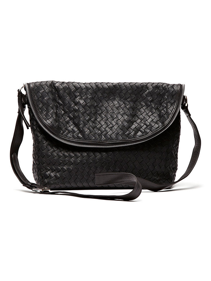 Selected Femme braided leather bag