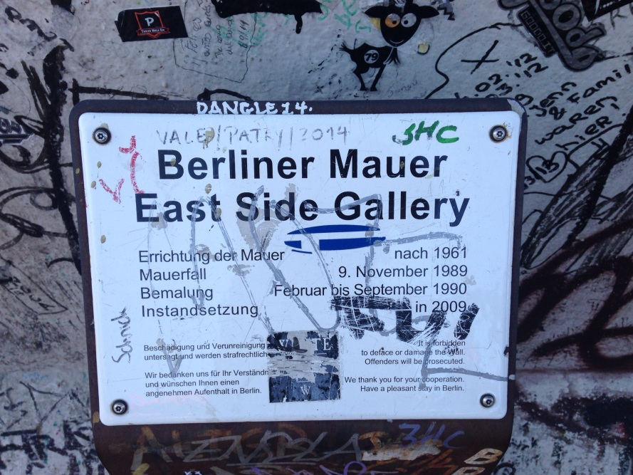 East Side Gallery Berlin, foto SheelaghMairi