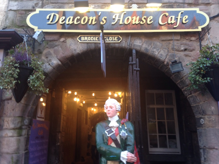 The Deacon's house café Edinburgh