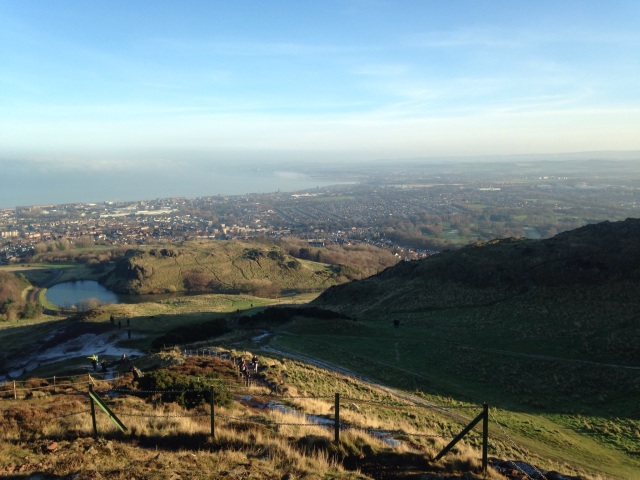 Edinburgh, Arthurs Seat view