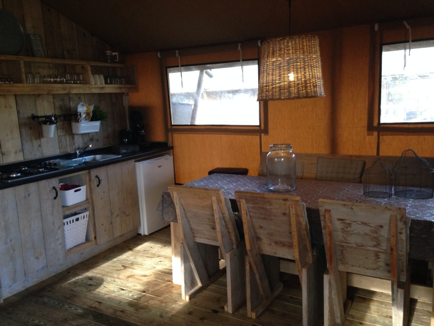sea lodge Egmond glamping