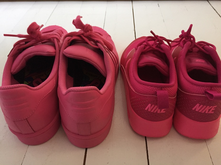 Nike Air Max Thea  Adidas Supercolor Pink
